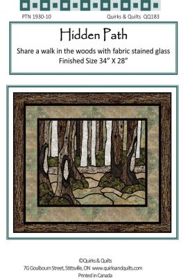 Hidden path stained glass